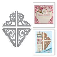 Spellbinders Graceful Corners Two Card Creator