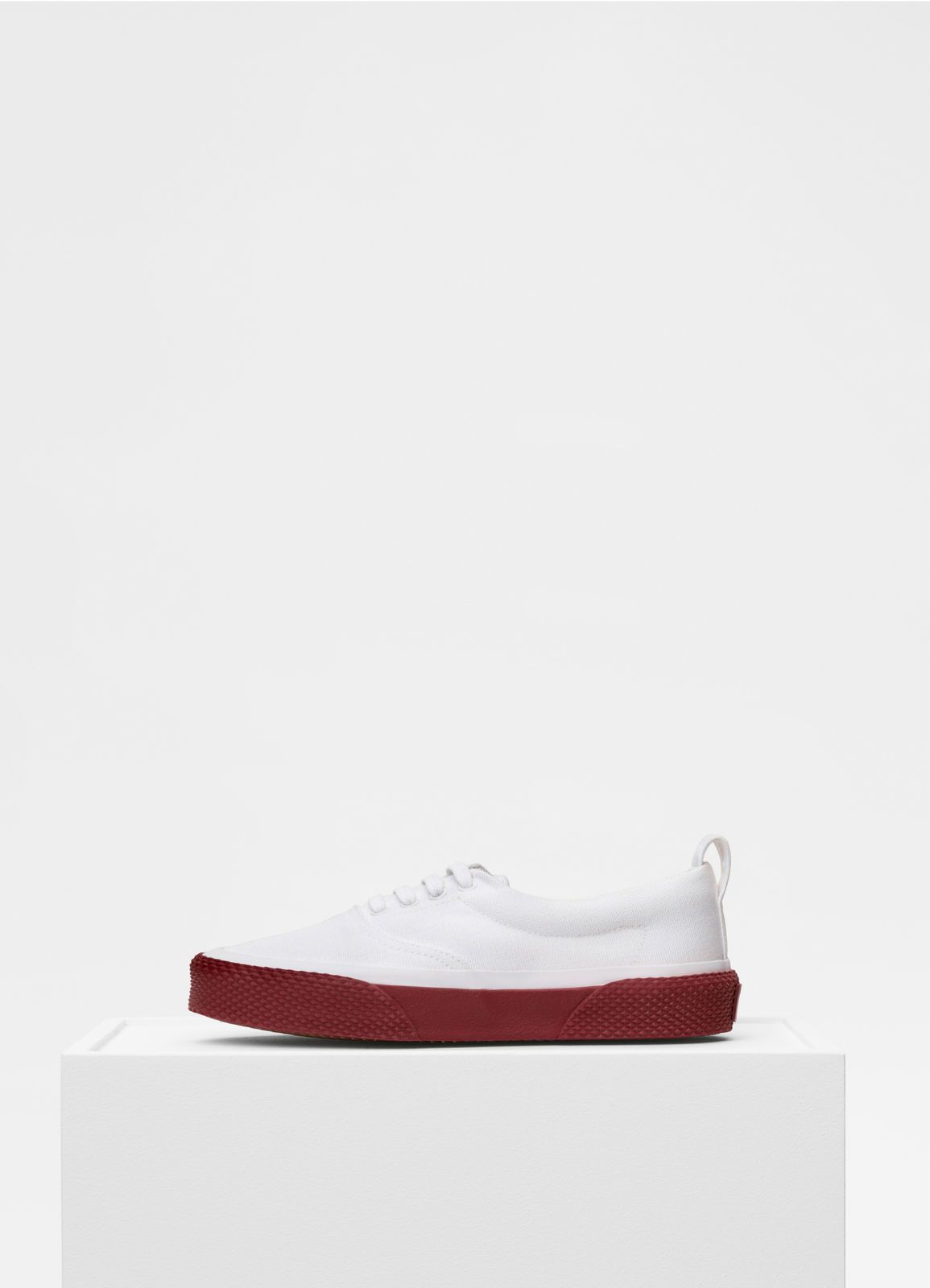 180° Lace Up Sneaker in canvas | CÉLINE