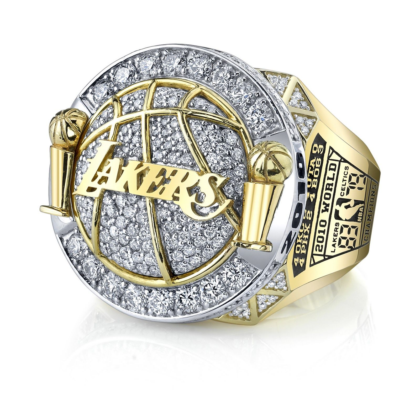 2010 Lakers NBA Champions ring  b8be14ee2