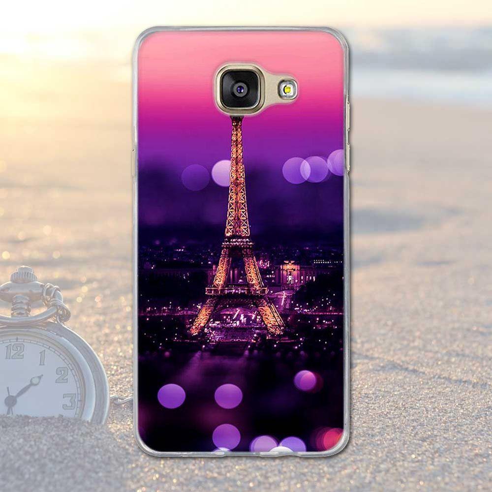 For Samsung Galaxy A5 2016 A510 Cover Scenery Pattern Tpu Soft Case Original Clear Casing