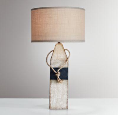Nice Vintage Buoy Table Lamp Blue | Table Lighting | Restoration Hardware Baby U0026  Child