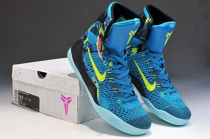 2017 Nike High Quality Kobe 9 Elite Black Mamba Blackout BHM Christmas Men Basketball Shoes KB