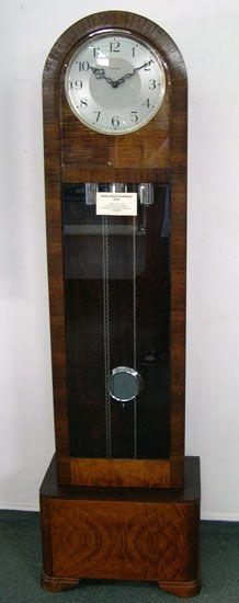 Smiths Enfield Grandfather Clock English Made C 1940