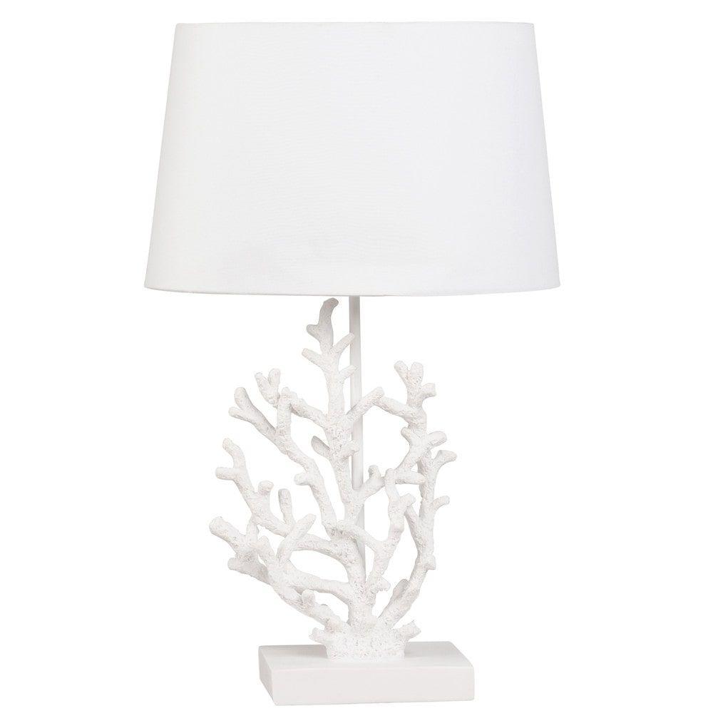 lampe corail blanche maisons du monde