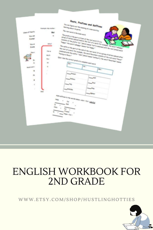 This Item Is Unavailable Etsy Workbook 2nd Grade Worksheets School Worksheets [ 1500 x 1000 Pixel ]