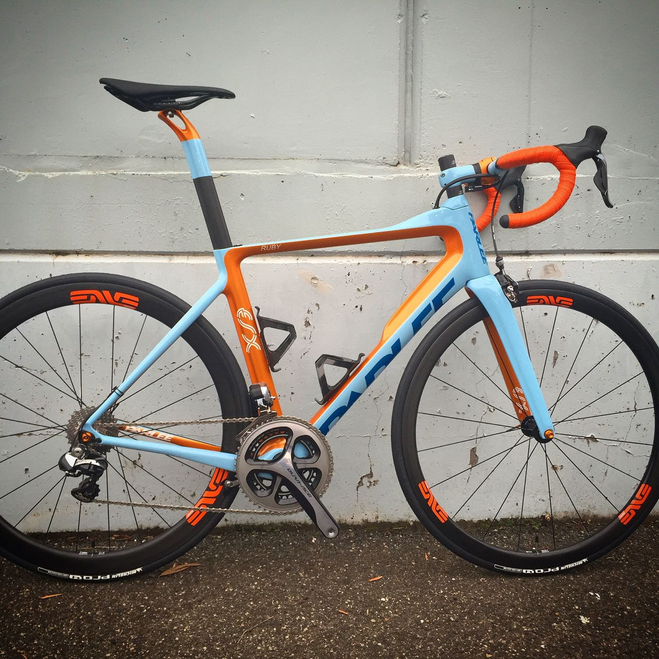 Custom Esx Gulf Oil Colours Classic Road Bike Bicycle