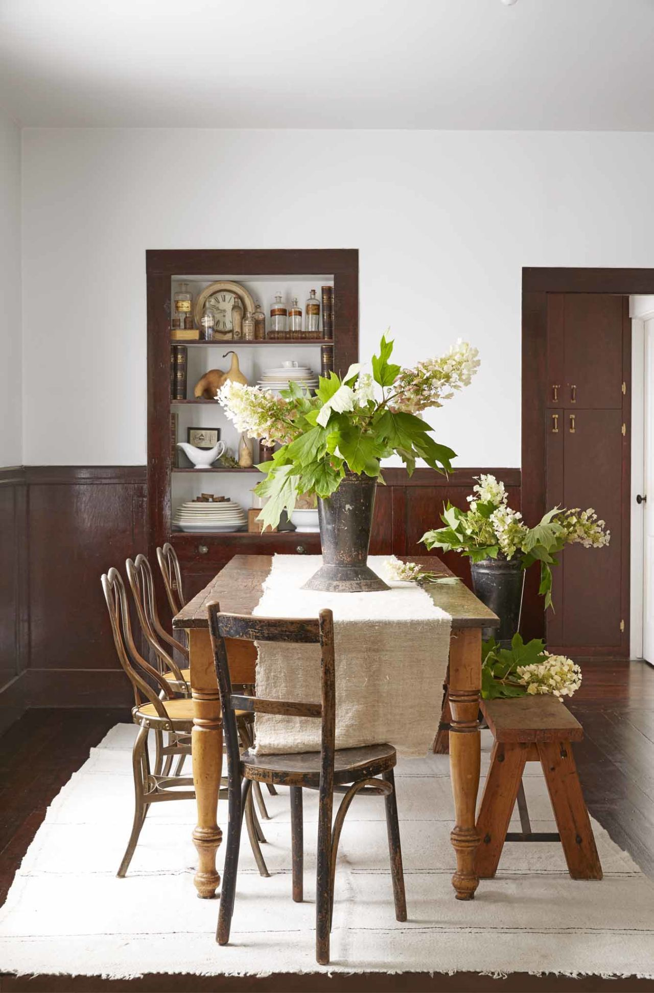 Home interior design dining room forget about farmhouse whiteua new color is taking over homes in
