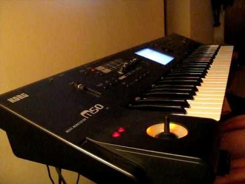 Korg M50 Hammond Organ programming attempt #1 | music stuff