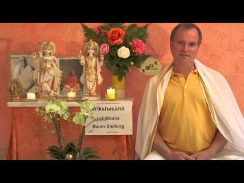 vrikshasana  baum stellung  hatha yoga wörterbuch  mein