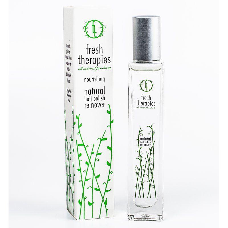 fresh therapies EDEN Natural Nail Polish Remover, Nagellackentferner ...