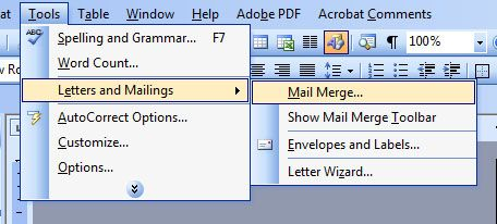 How to print invitation envelopes using MS Word Mail Merge Video