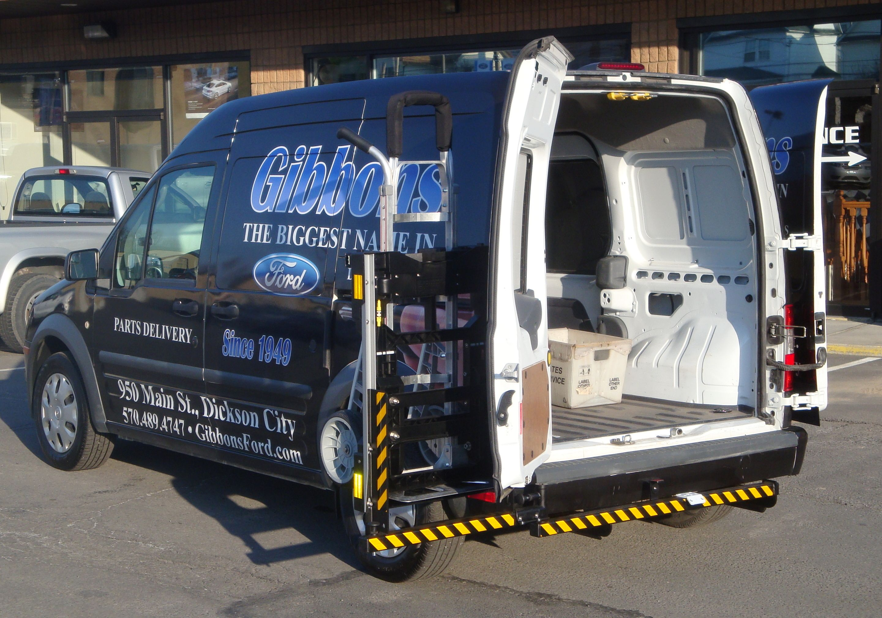 HTS Systems Ford Transit Connect 20SFT Maximizes Cargo Space In Small Vans Reduces Product Damage And Decreases Delivery Time