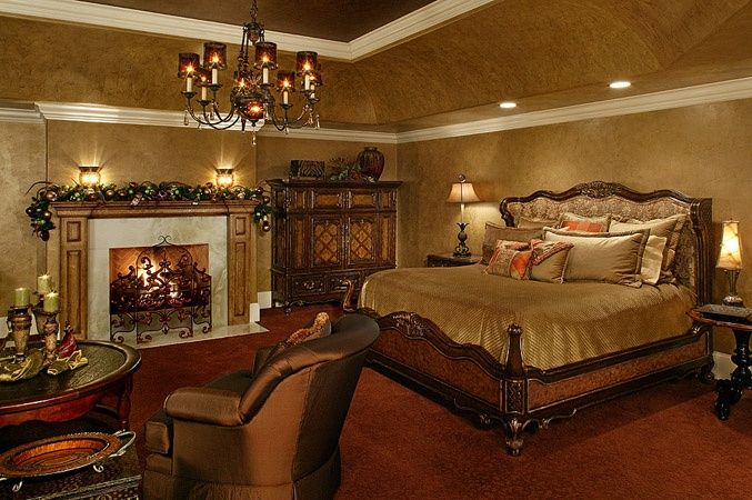 Cozy Old World Style Bedroom Tuscan Bedroom Old World Bedroom