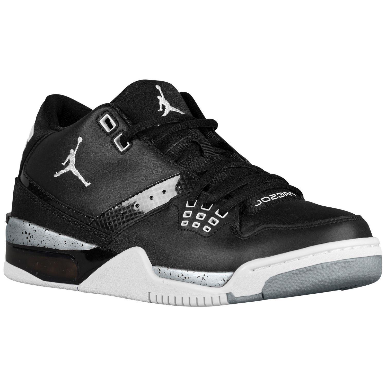 Jordan Flight 23 - Men s - Basketball - Shoes - Black White Metallic Silver de820c6733a