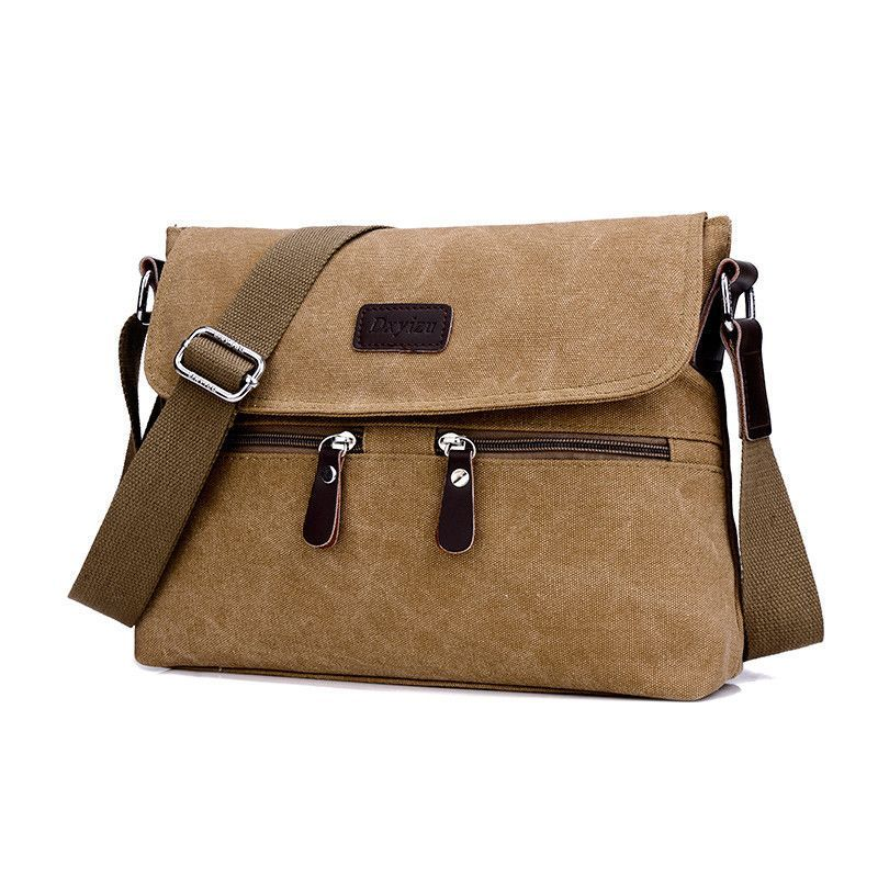 High Quality Multifunction Men Canvas Bag Casual Travel Bolsa Masculina