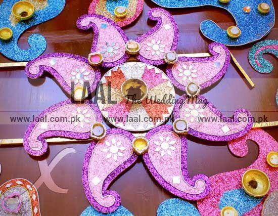 Mehndi Thaals Uk : Mehndi thaal wedding decor and