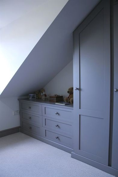 Built in Furniture for Loft Conversions, Angled Ceilings