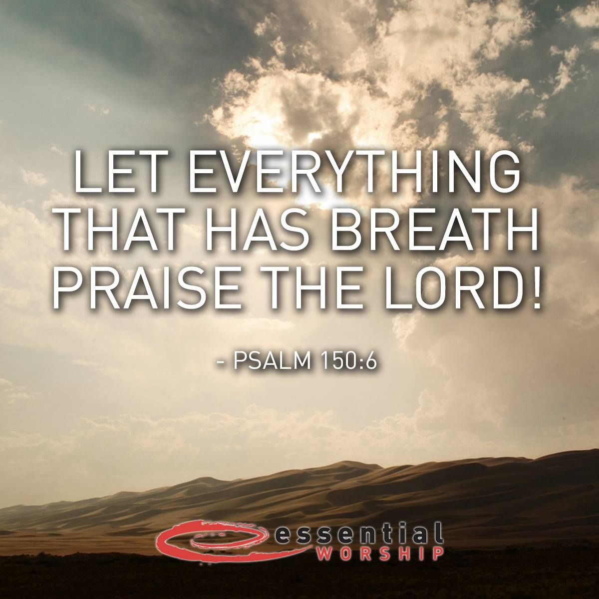 Superieur Let Everything That Has Breath Praise The Lord! Psalm 150:6 #bibleverses