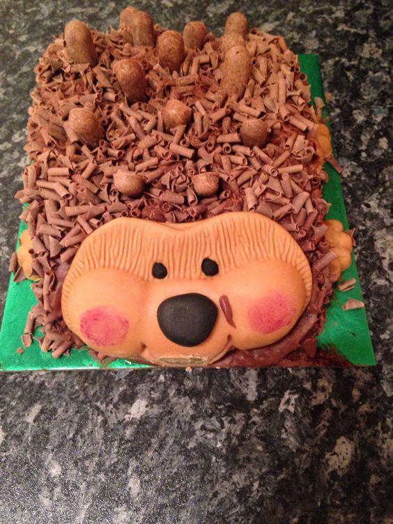 Hedgehog Birthday Cake Sainsbury