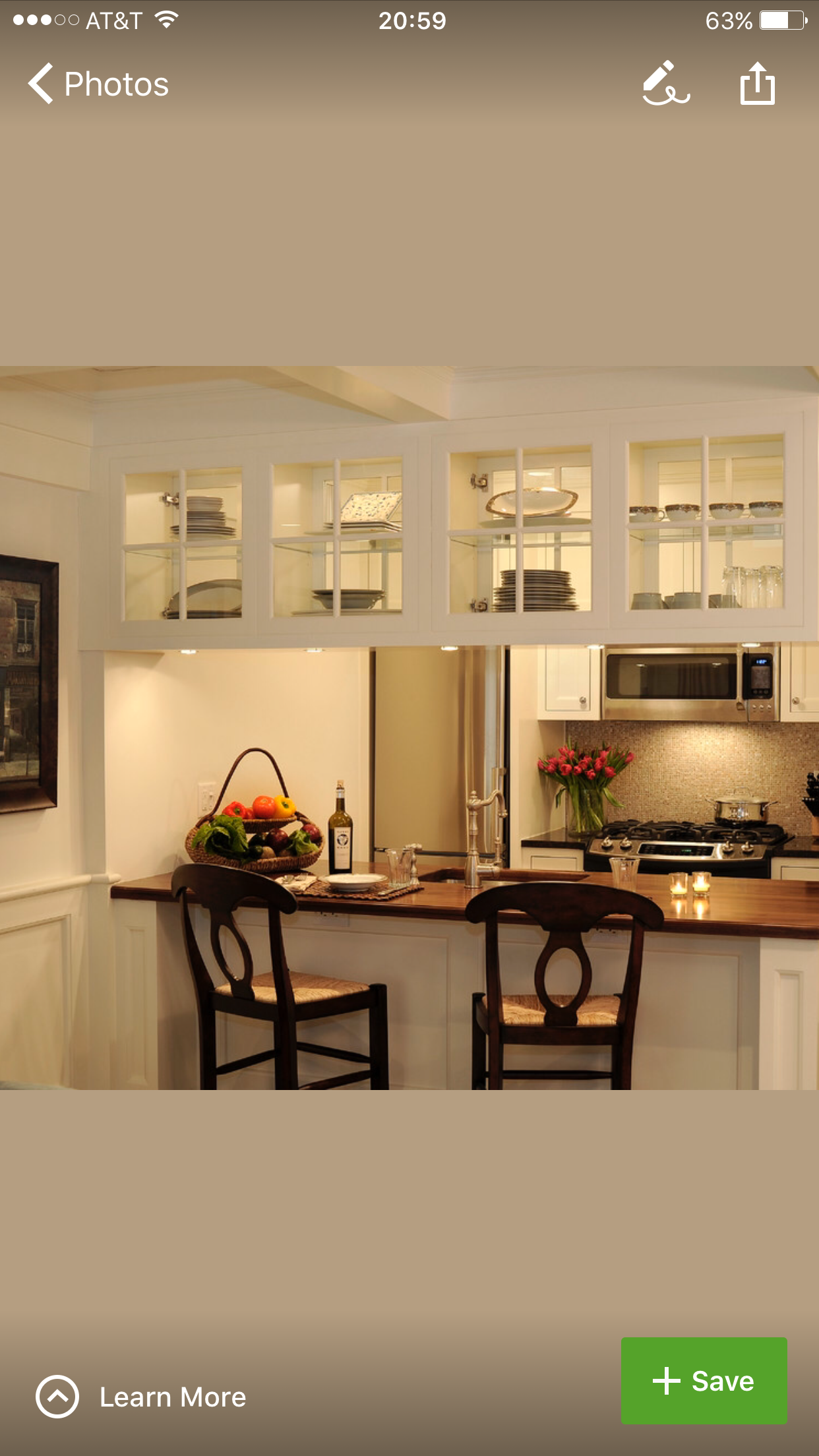 Transform Upper Cabinets To See Through Kitchen Pass Pass Through Kitchen Kitchen Design