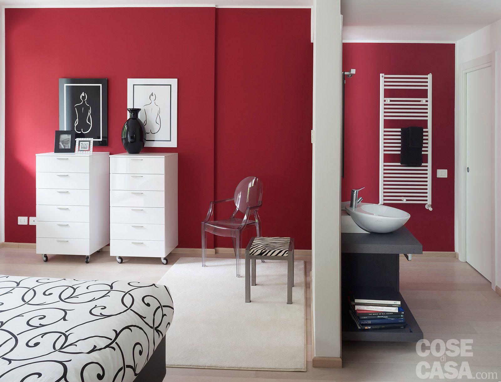 In meno di 100 mq una casa moderna con geometrie a 3 for Pareti casa moderna