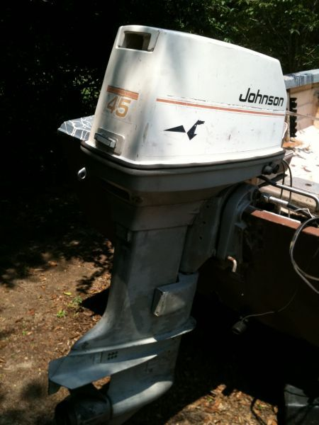 1987 1987 45 hp johnson sea horse outboard motors for sale in rh pinterest com Johnson Outboard Manual PDF Old Johnson Outboard Motors