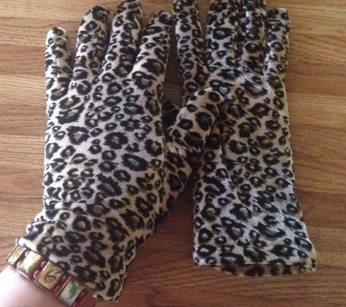 Cejon Leopard Cheetah Gloves Thinsulate 40 Gram Leopard