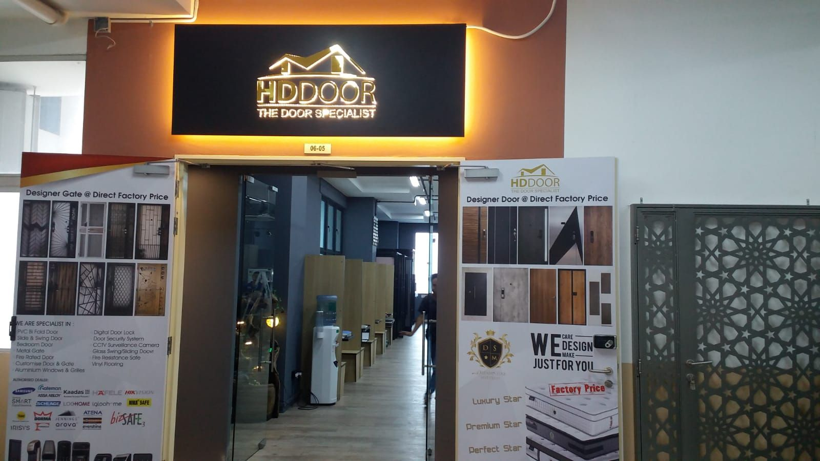 We Ve Moved To A New Office Location Hddoor Pte Ltd House Interior Smart Home Doors