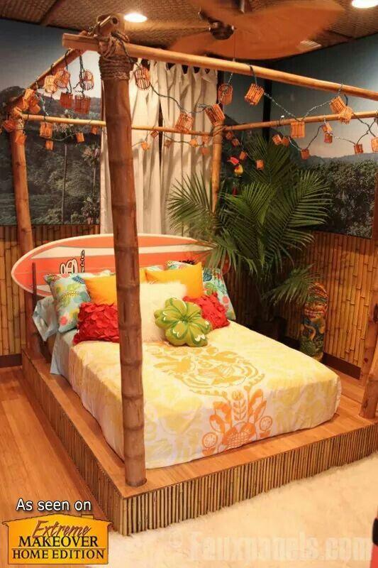 Recamaras Beach Themed Bedroom Extreme Makeover Home Edition