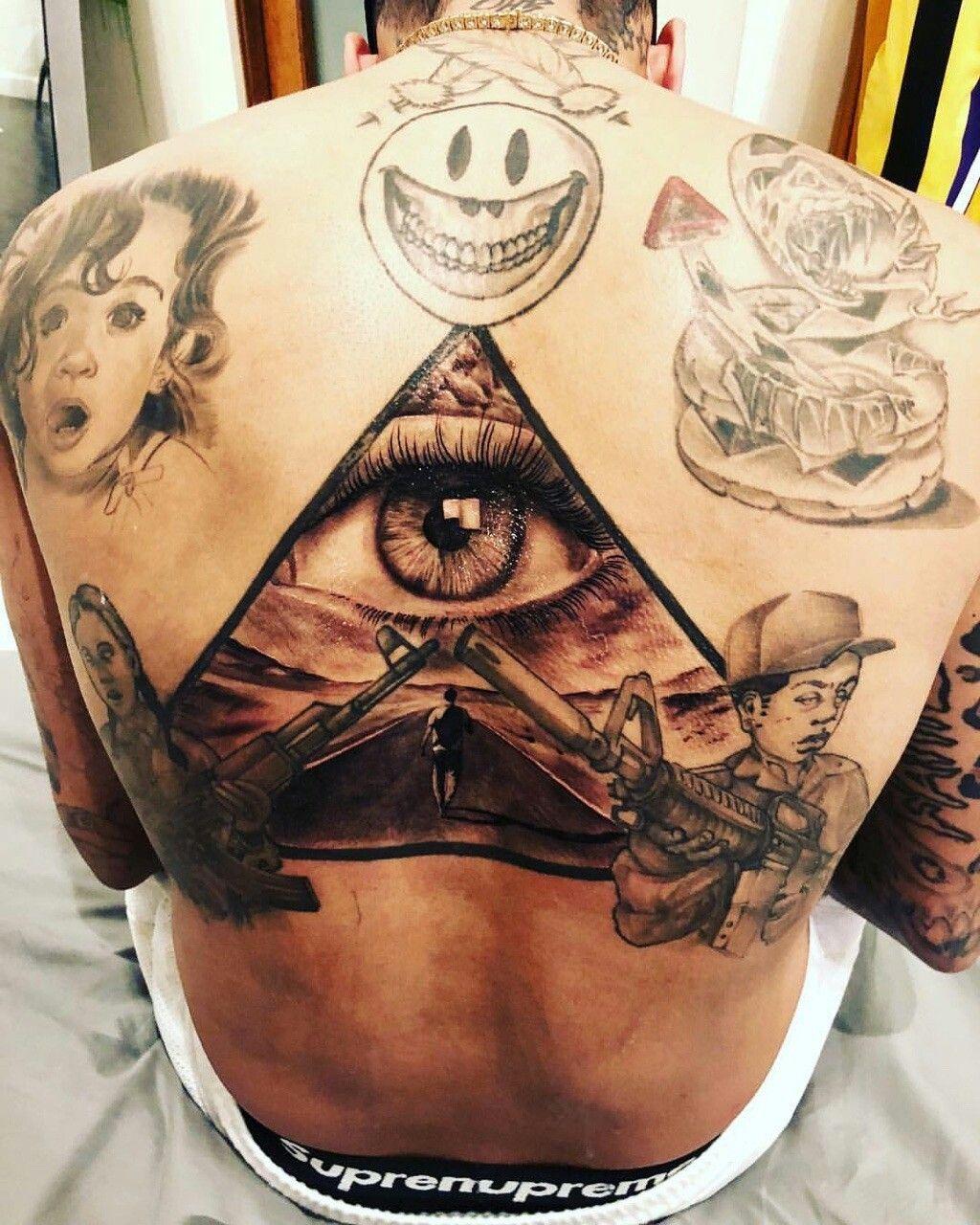 Chris Brown Chris brown tattoo, Chris brown chest tattoo
