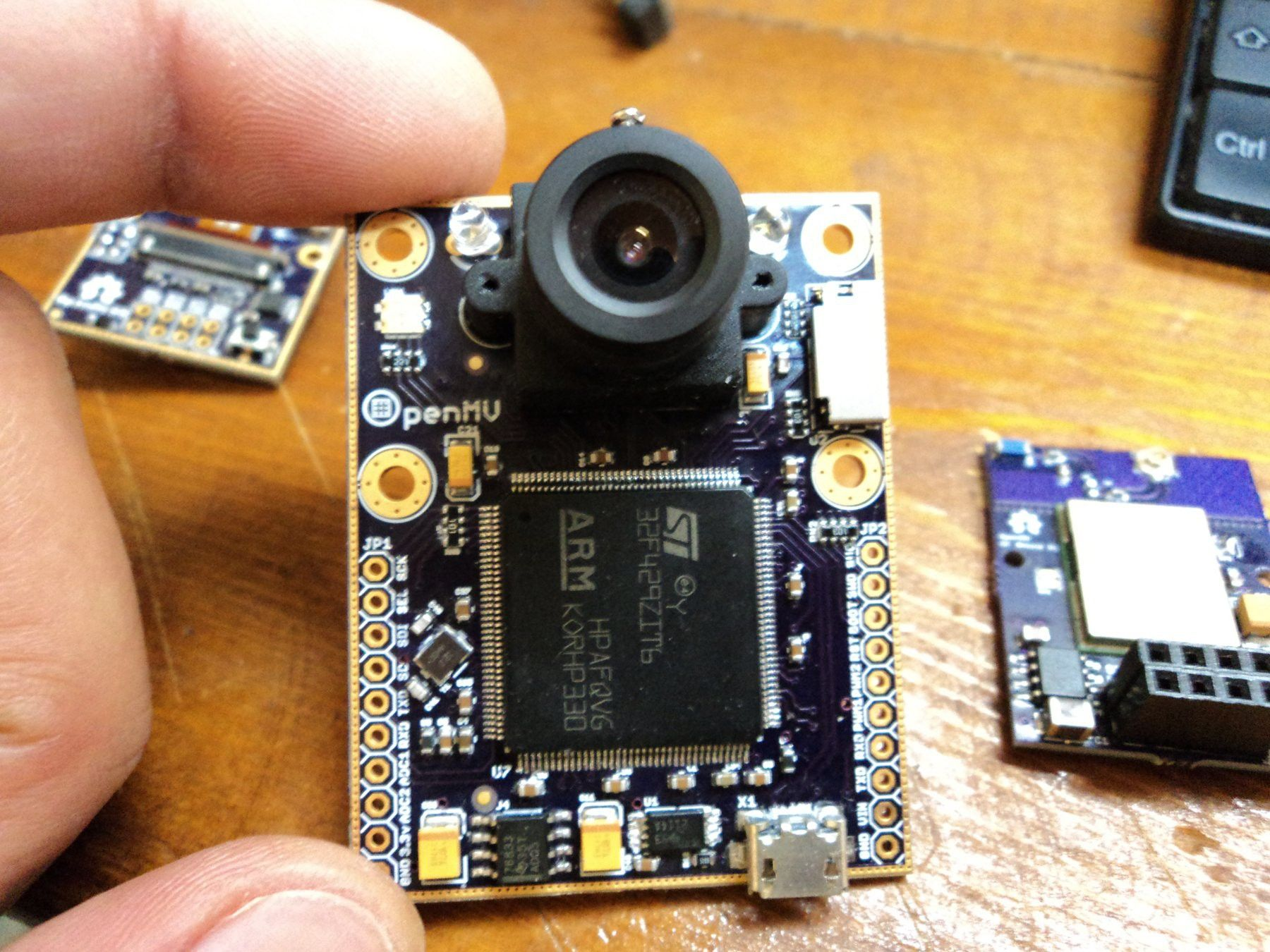 The OpenMV project aims at making machine vision more accessible to ...