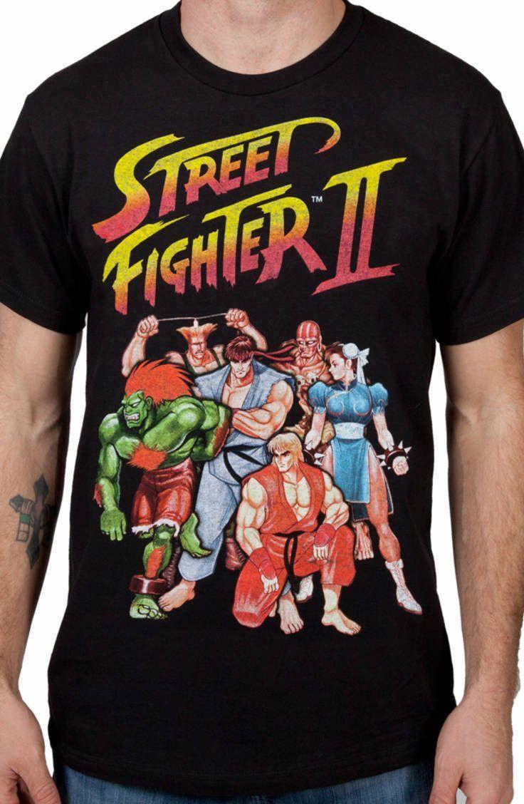 1b20d3d4cf5 Characters Street Fighter II Shirt  Street Fighter Ii Mens T-shirt ...