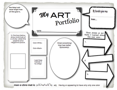 Printables Elementary Art Worksheets 1000 images about portfolio ideas for elementary art on pinterest sketchbooks new school year and pizza boxes