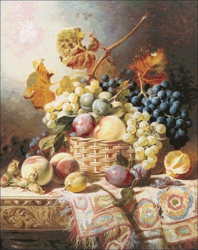 Натюрморт на кухню - Схема вышивки крестом Иголочка - igolochka 41