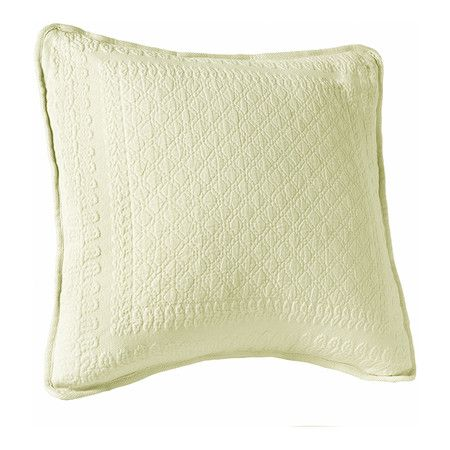 "Found it at Wayfair - 18"" Square Diamond Pillow in Ivory"