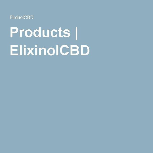 Products   ElixinolCBD