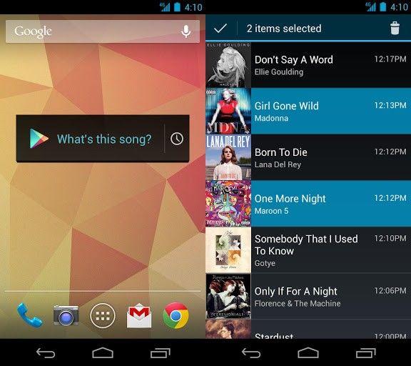 Ya está disponible para Estados Unidos el Widget de Búsqueda de Audio de Google Play.