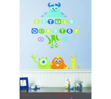 Disney Wall Decals For A Playful And Magical Nursery Monsters Inc