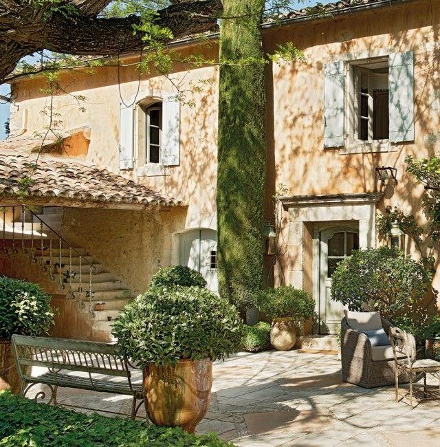 Casa de campo en la provenza interieur house pinterest - Casas en la provenza ...