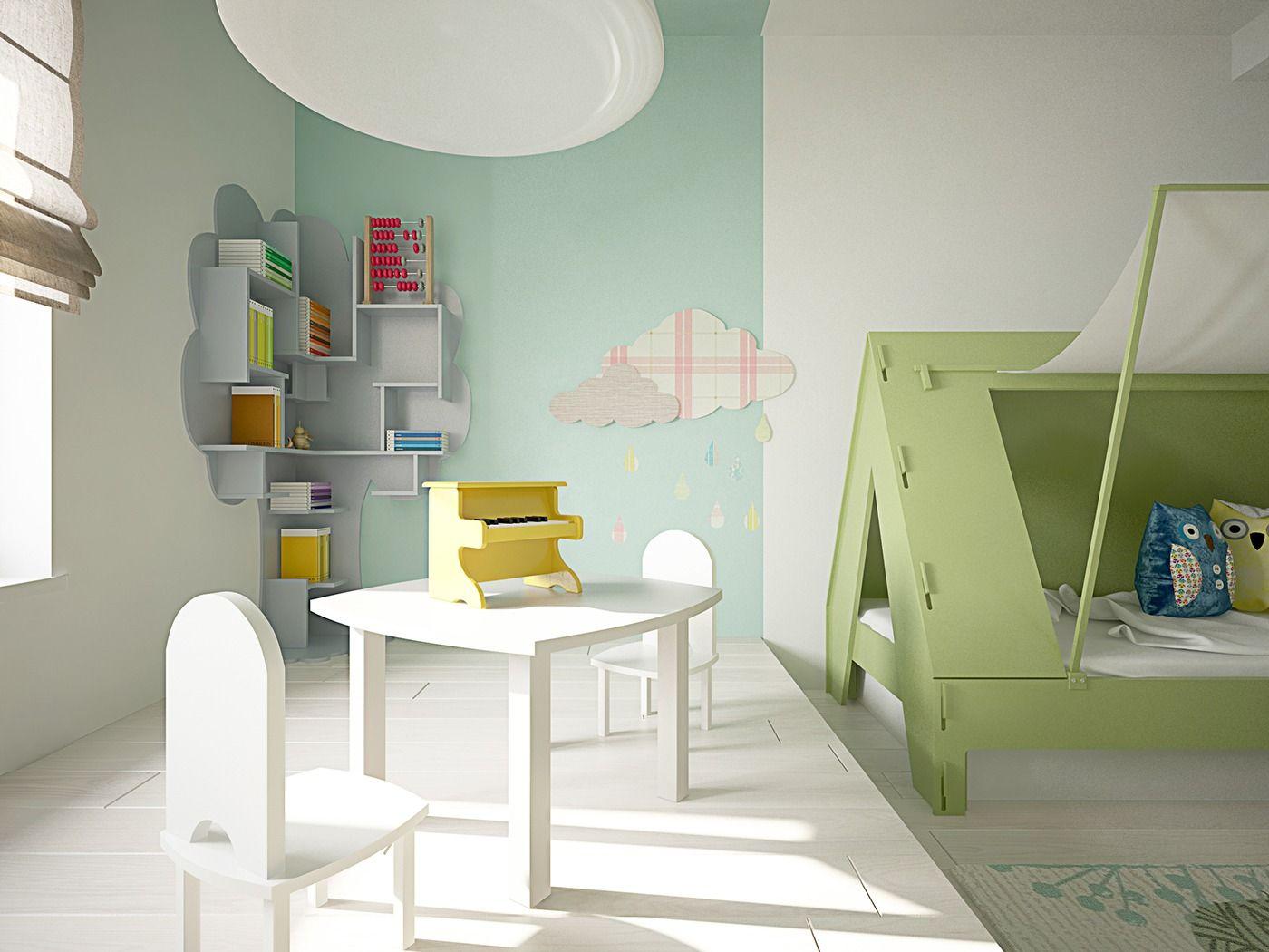 15 Idees Pour Decorer Les Murs D Une Chambre D Enfant Deco
