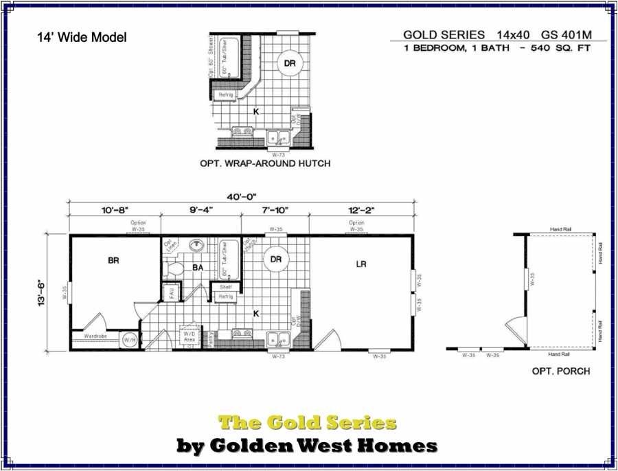 14x40 Cabin Floor Plans Cabin Floor Plans One Bedroom House Plans Cabin Floor