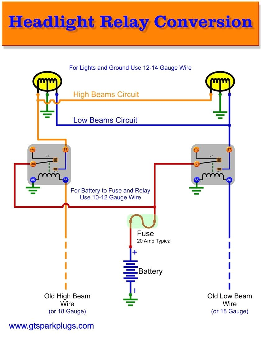 12V Relay Wiring Diagram 5 Pin - fitfathers.me