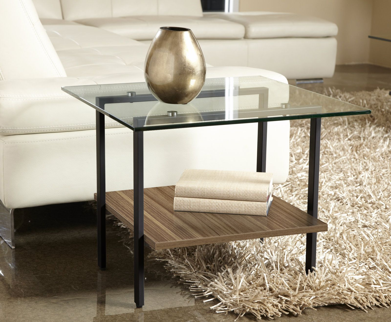 Modern Glass Side Table | New things for my condo | Pinterest ...