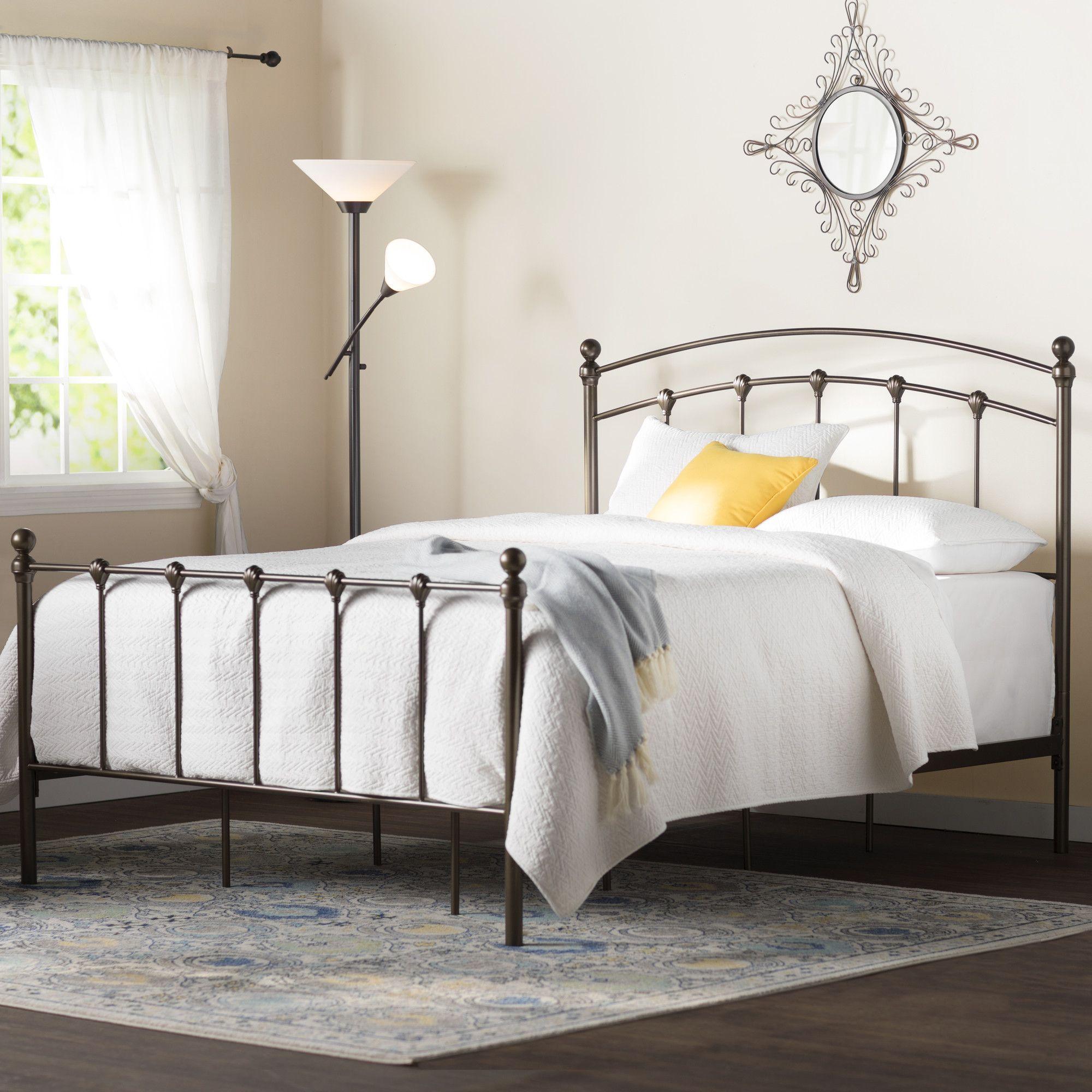 Bowman Metal Platform Bed Bed, Bed sizes, Panel bed