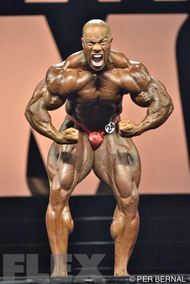 Phil Heath - Men\'s Open Bodybuilding - 2015 Olympia | Anatomy ...