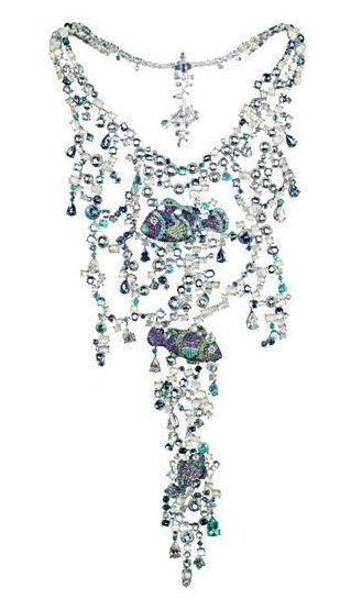 Collier Poissons : collier Chopard - Collier Possons, Chopard - 150 ans Chopard: bijoux Chopard - Collection Animal World, Chopard - Joyce.fr