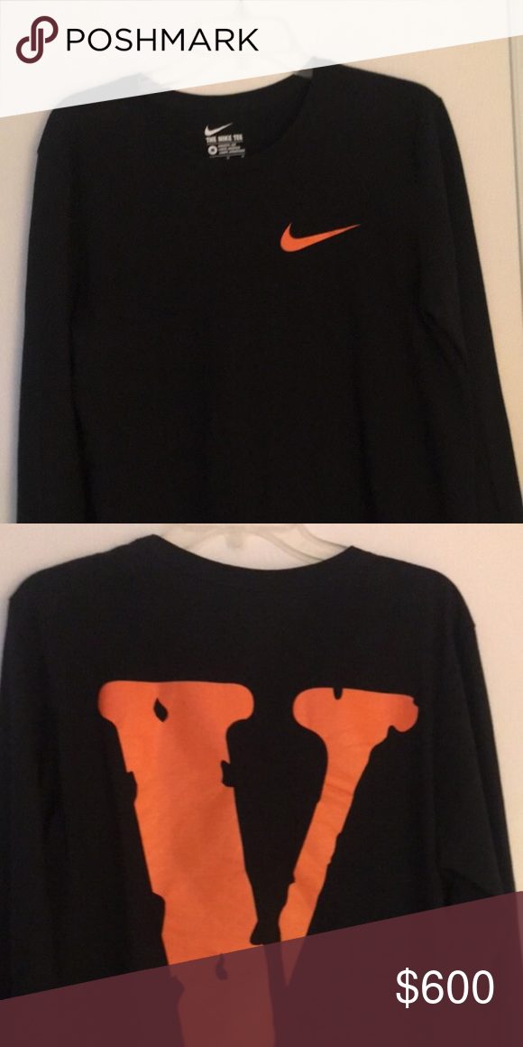 671d694729fc Vlone x Nike medium complex con exclusive VERY RARE ONLY 150 made Long  Sleeve vlone Shirts Tees - Long Sleeve
