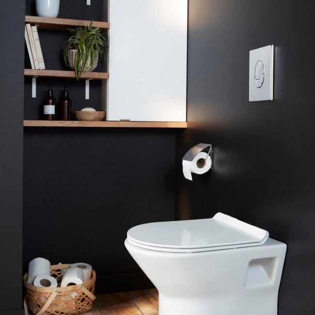 Szafka Wiszaca Goodhome Imandra 40 X 90 X 15 Cm Biala Wiszace Toilet 90 S