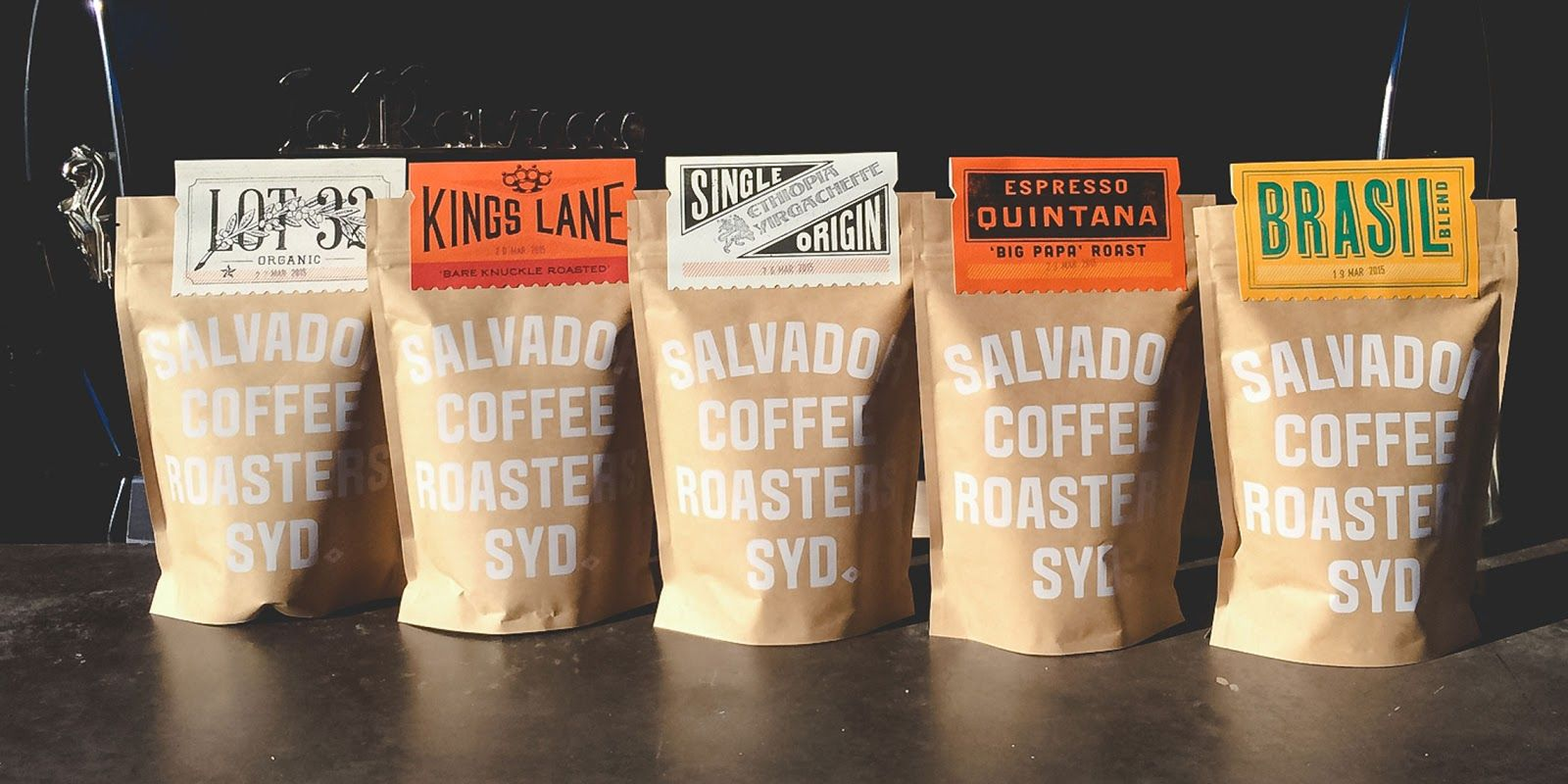Salvador Coffee Coffee Branding Drinks Packaging Design Coffee Packaging
