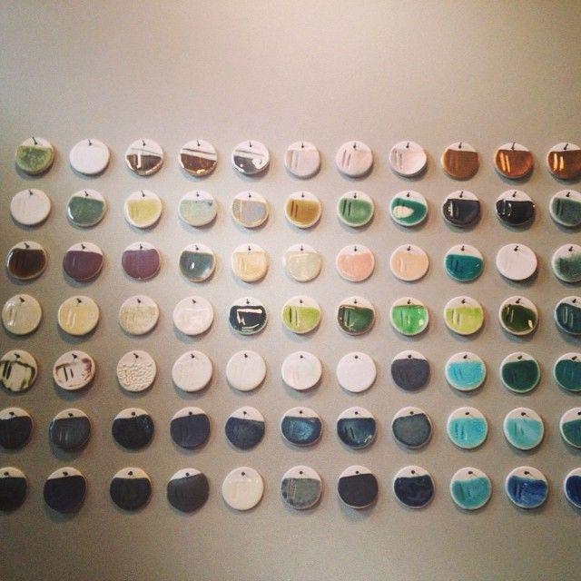 test tile wall in my wheel house pinterest keramik. Black Bedroom Furniture Sets. Home Design Ideas